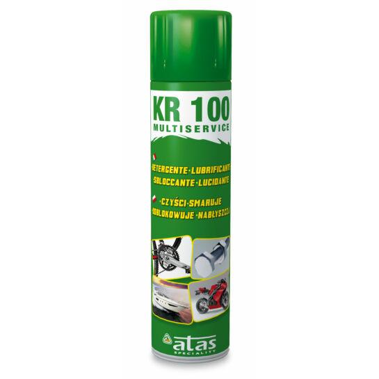 KR100 tisztító és olajozó spray 400ml